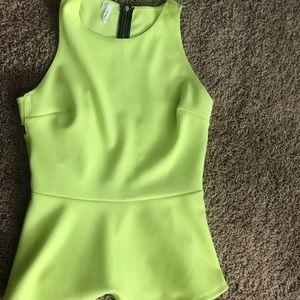 Neon blouse 👚 medium size